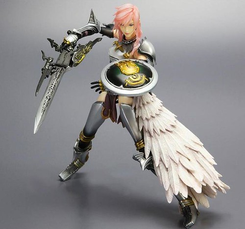 PlayArts Kai - Final Fantasy 13-2 - Lightning3