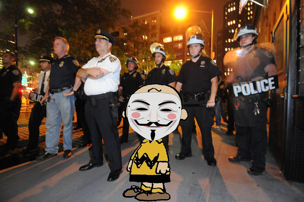 OCCUPY CHARLIE BROWN