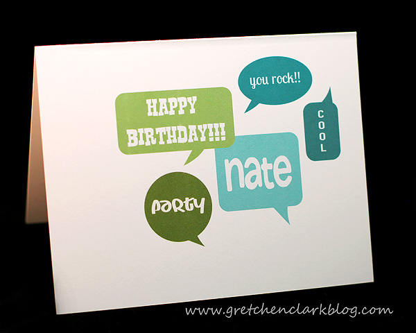 Nathan bday card