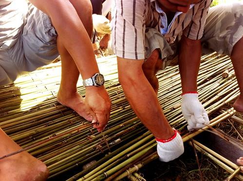 超手工的達魯岸工程。(圖片來源:林務局)
