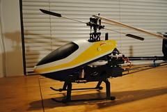 DSC_1738 (shtluk) Tags: red bird radio t fun tx 9 super helicopter aurora tarot pro stick hi trim rex 450 switches rc receiver trex tec rx transmitter combo hitec align anodized