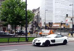 Renovatio (BenGPhotos) Tags: white black slr london car mclaren mercedesbenz tuner 2009 supercar v8 spotting roadster tuned mansory renovatio hypercar worldcars