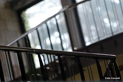 Dreamy Interior? (Niccol Caranti) Tags: italy scale window glass architecture stairs design italia bokeh geometry interior edificio finestra scala minimalism minimalismo palazzo architettura trentino interno vetro geometria terme linee levico corrimano inception valsugana obliquo rette parapetto obliqua nikond80 scorrimano dsc2281 obliquemind obliquamente