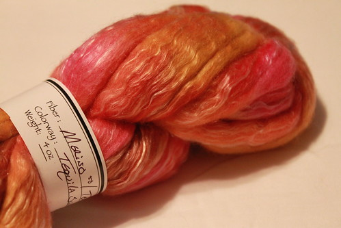 merino and tussah silk