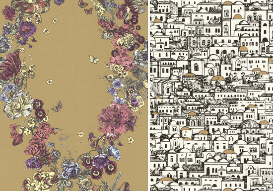 Cole & Son Fornasetti wallpaper