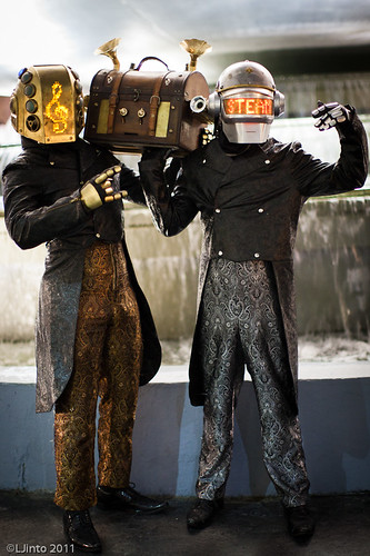 DragonCon Steampunk Daft Punk-1