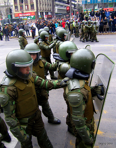 Student protest Chile