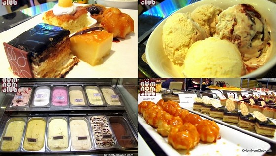 Marriot Cafe Desserts: Sweets, Cream Puffs, and Ice Cream!