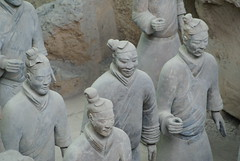 All Terracotta soldiers' faces are different