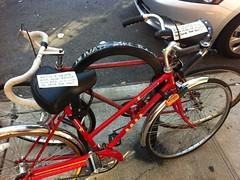 Private Bike Rack on East Fourth? 3