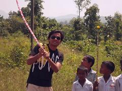 some village kids... I guess somekind of festival (R@@z) Tags: daman nasik bhandardara trayambkeshwar