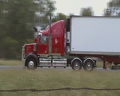 Filmed by secret squirrel (secret squirrel6) Tags: truckstop fuel northbound westernstar avenel ruralaustralia bdouble highway31 humehwy roundtanks bogiedrive secretsquirrel6truckphotos