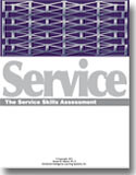 Front cover of the Service Skills Assessment Process®
