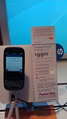 HP Veer WebOS