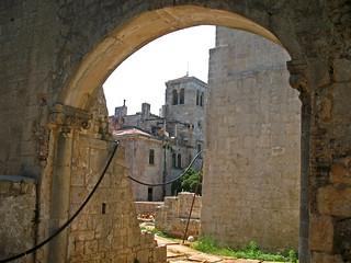 monastery ruins on Lokrum