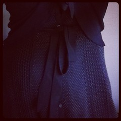 #frocktober the 16th, pleats and bows (I'm wearing dresses this month to raise funds for Ovarian Cancer Research)