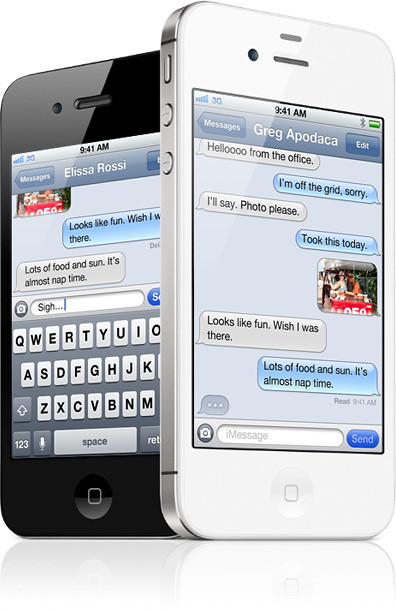 Image from Apple's iMessage page