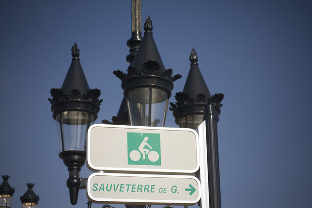 Bordeaux Bicycle Signage