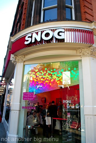 London views - Snog by Berwick St., Soho