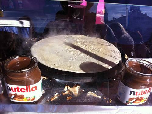 Oktoberfest Nutella Crepe