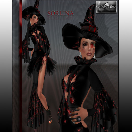 Sorlina dress, Special Halloween, 380 lindens by Cherokeeh Asteria
