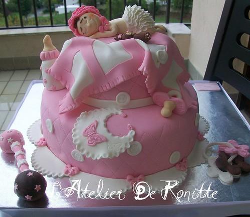 Baby Shower (Faşadura) Pastası by l'atelier de ronitte