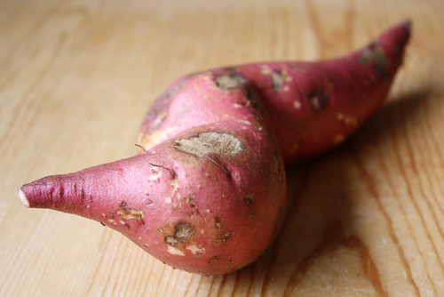 local sweet potato.