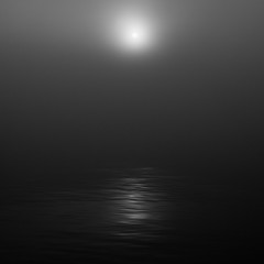 V (Jack Fanning) Tags: ocean sea white canada black water nova fog sunrise reflections grey harbour salt atlantic scotia halifax moonlike fanningphotography