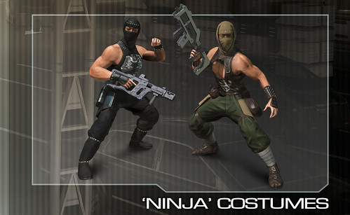 Binary Domain Pre-Order - Ninja Costumes