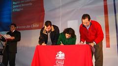 Firma de Alianza tripartita entre el municipio de