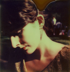 twenties dream (snacky.) Tags: 1920s party portrait film vintage project polaroid island dress lawn jazz first age instant flush slr680 ff impossible governors panpola px680