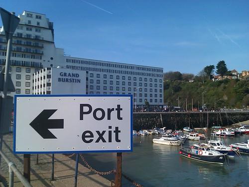 Folkestone port hotel