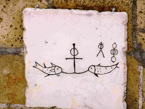 Simbolos en Domitilla