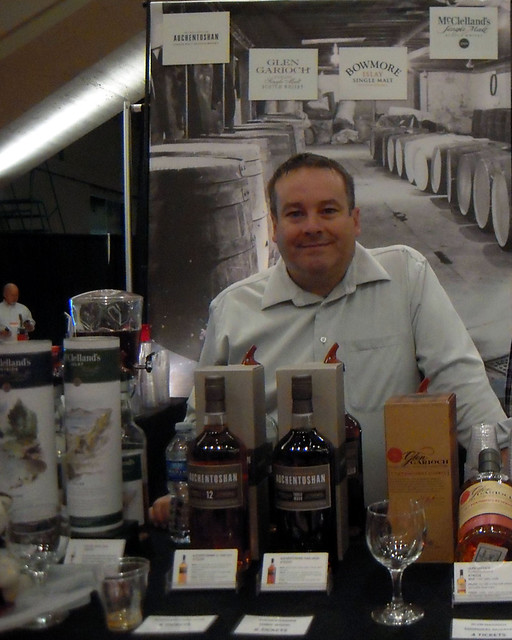 Dave Gordon, Whisky Connoisseur Extraordinaire Rocky Mountain Wine and Food Festival