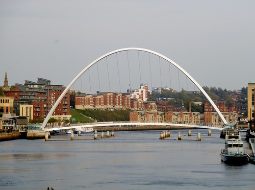 Millennium Bridge, Newcastle on Tyne