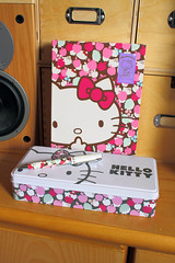 Hello Kitty x Liberty of London (Jay Tilston) Tags: hello art pen writing liberty kitty sanrio biro fabrics licenced