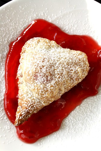 Bloody Halloween Pastry Heart