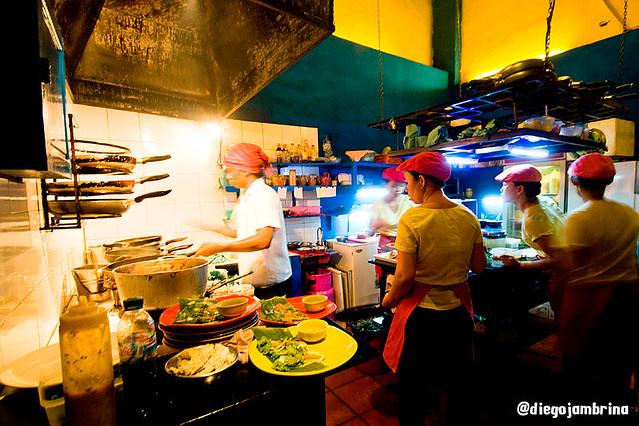 Cocina en Hoi An, Vietnam