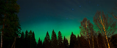 Aurora Glow (AndWhyNot) Tags: night finland lights long exposure f14 aurora 24mm northern kuopio borealis puijo 5592