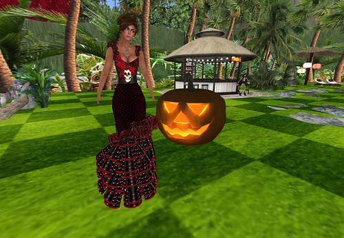 Traje Flamenca HALLOWEEN by Cherokeeh Asteria