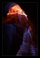 Canyon X (*Glueckskind*) Tags: arizona usa sandstone canyon page navajo amerika landschaft farbe sandstein slotcanyon nordamerika canyonx jacksonbridges canon40d overlandcanyontours