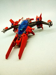 Striker M4 (SuperHardcoreDave) Tags: fighter lego tech space future scifi spaceship weapons starship moc starfighter spacefighter