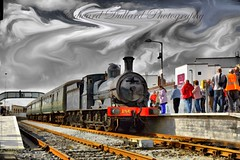 Steam Train Impressions. (Edward Dullard Photography. Kilkenny, Ireland.) Tags: railroad painterly train vintage railway impressionism photoart steamengine irishrail cie edwarddullardphotographykilkennyireland