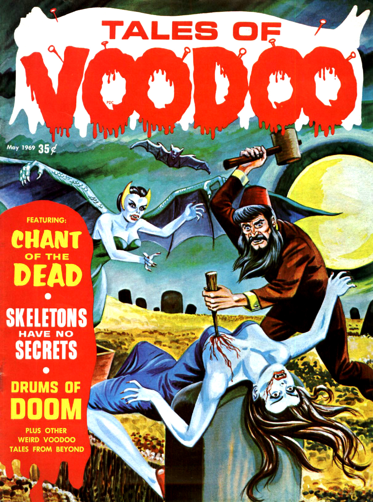 Tales of Voodoo Vol. 2 #2 (Eerie Publications 1969