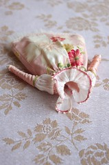 For Mimsy IV (Kikihalb  Forest~Tales ) Tags: beads outfit strawberry doll dress handmade embroidery silk clothes cotton thief ribbon blythe sorbet