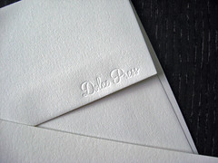Letterpress Envelopes for Holiday Cards (dolcepress) Tags: pink ny newyork green longisland envelope custom letterpress merrychristmas greetingcard a2 partridge christmascard peartree holidaycard creased 2011 11716 dolcepress