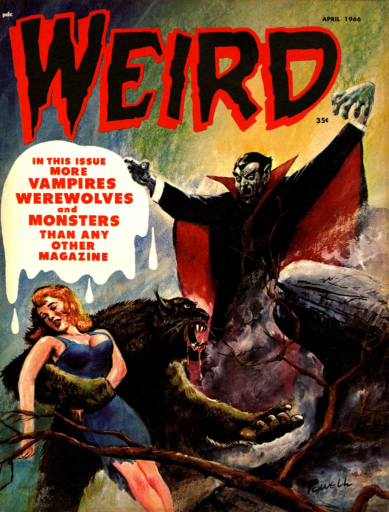 Weird Vol. 01 #11 (Eerie Publications, 1966)