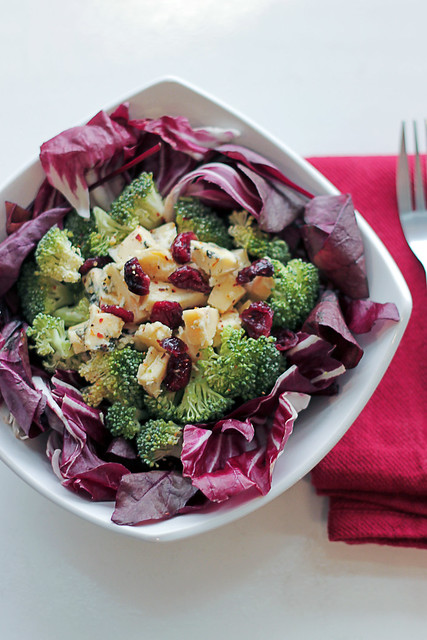 Blue Cheese, Broccoli and Radicchio
