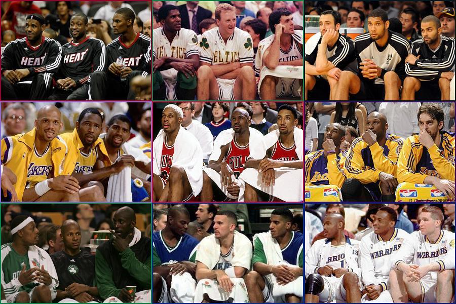 NBA Trios