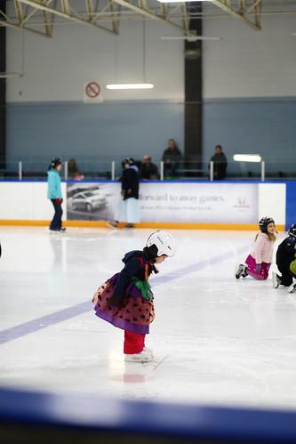 halloween costume on ice!